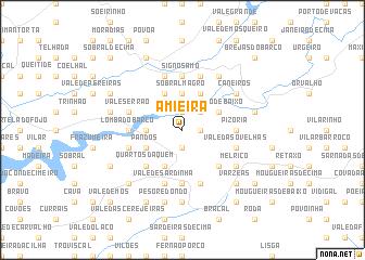 map of Amieira