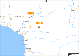 map of Amio