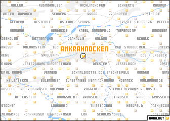 map of Am Krähnocken