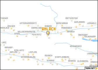map of Amlach