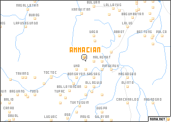 map of Ammacian