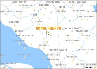map of 'Amm al Ḩusayn