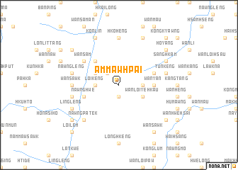map of Ammawhpai