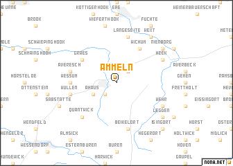 map of Ammeln