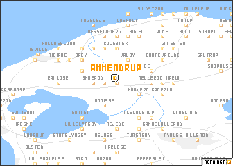 map of Ammendrup