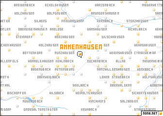 map of Ammenhausen
