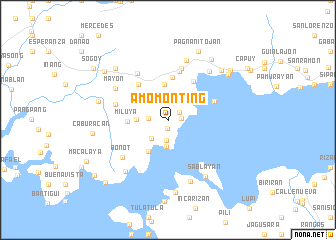 map of Amomonting