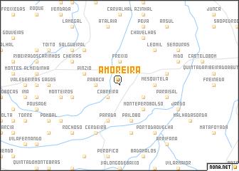 map of Amoreira