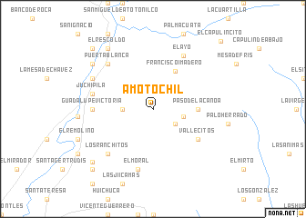 map of Amotóchil