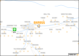map of Ampass