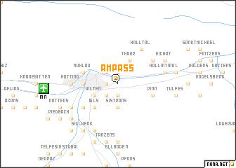 map of Ampass