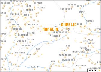 map of Ampélia