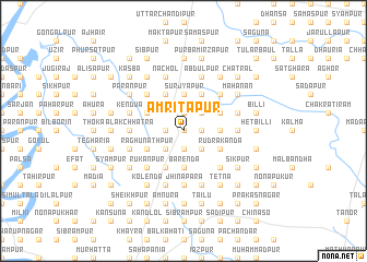 map of Amritapur