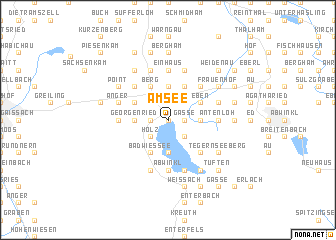 map of Am See
