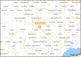 map of Amurao