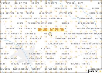 map of Am Waldgrund