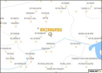 map of Amzaourou