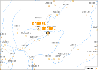 map of Anabel