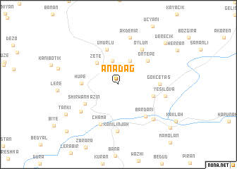 map of Anadağ