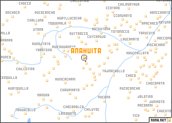 map of Anahuita