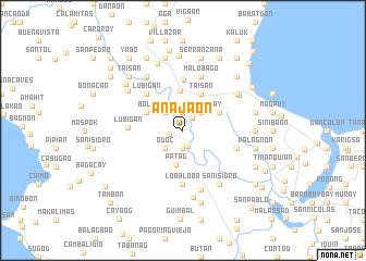map of Anajaon
