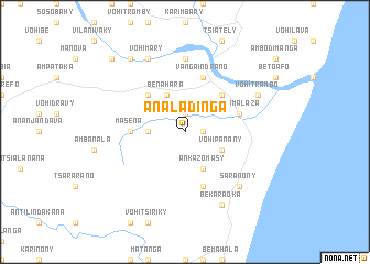 map of Analadinga