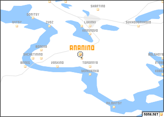 map of Anan\