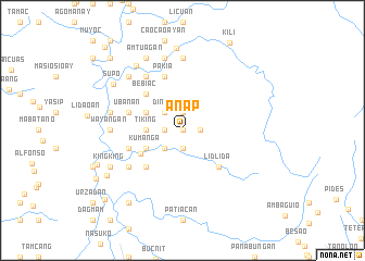 map of Anap