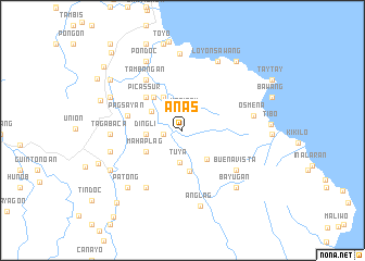 map of Anas