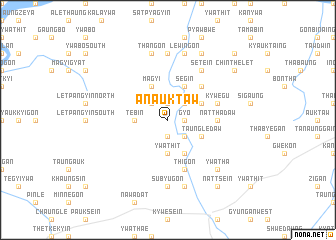 map of Anauktaw
