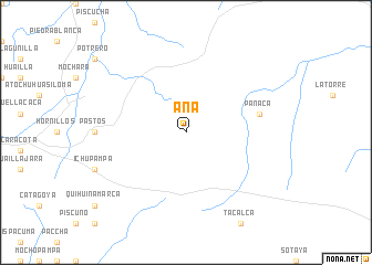 map of Aña