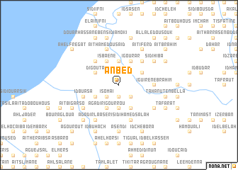 map of Anbed