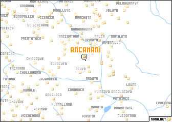 map of Ancamani