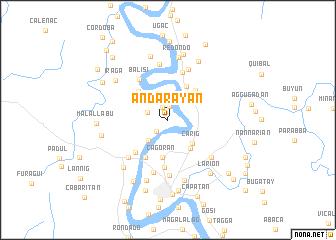 map of Andarayan