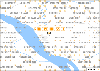 map of An der Chaussee