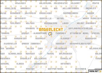 Anderlecht Belgium map nonanet
