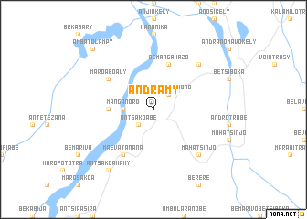 map of Andramy