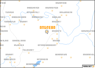 map of Andreba