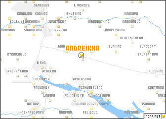 map of Andreikha