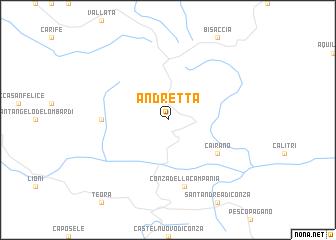 Calitri Italy Map.Andretta Italy Map Nona Net