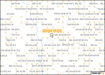 map of Andrinos
