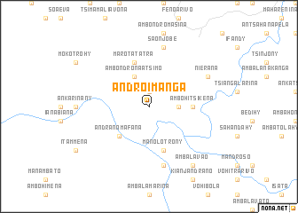 map of Androimanga