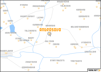 map of Androsovo