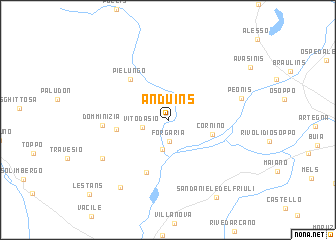 map of Anduins