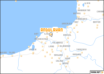map of Andulawan