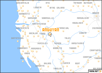 map of Anduyan