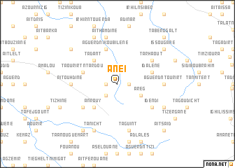 map of Aneï