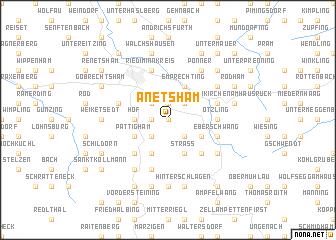 map of Anetsham
