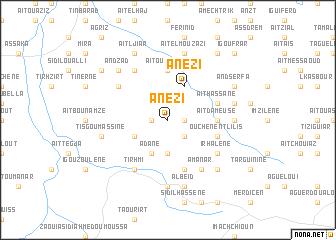 map of Anezi