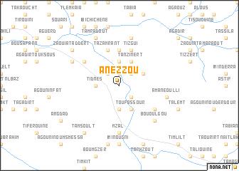 map of Anezzou